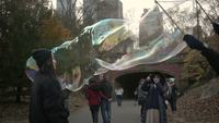 Bubbles in Central Park