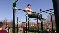 Street Workout - Explosive muscle ups