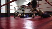 Wrestling - Double split 02