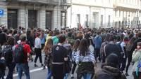 Menschen Demonstration