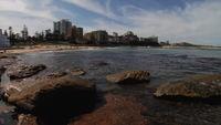 Rocky Cronulla Beach i Australien