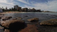 Rocky Cronulla Beach in Australia