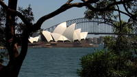 Sydney maison d'opéra repère
