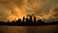 Sunset Time Lapse i Sydney Australien
