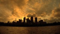 Sunset Time Expiration in Sydney Australië
