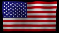 Bandeira americana 4K Motion Loop After Effects Template
