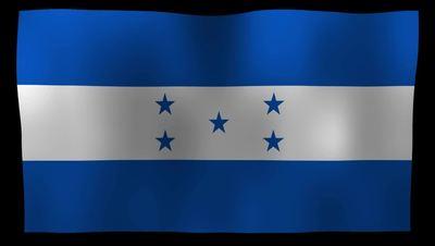Honduras Flag 4K Motion Loop After Effects 模板