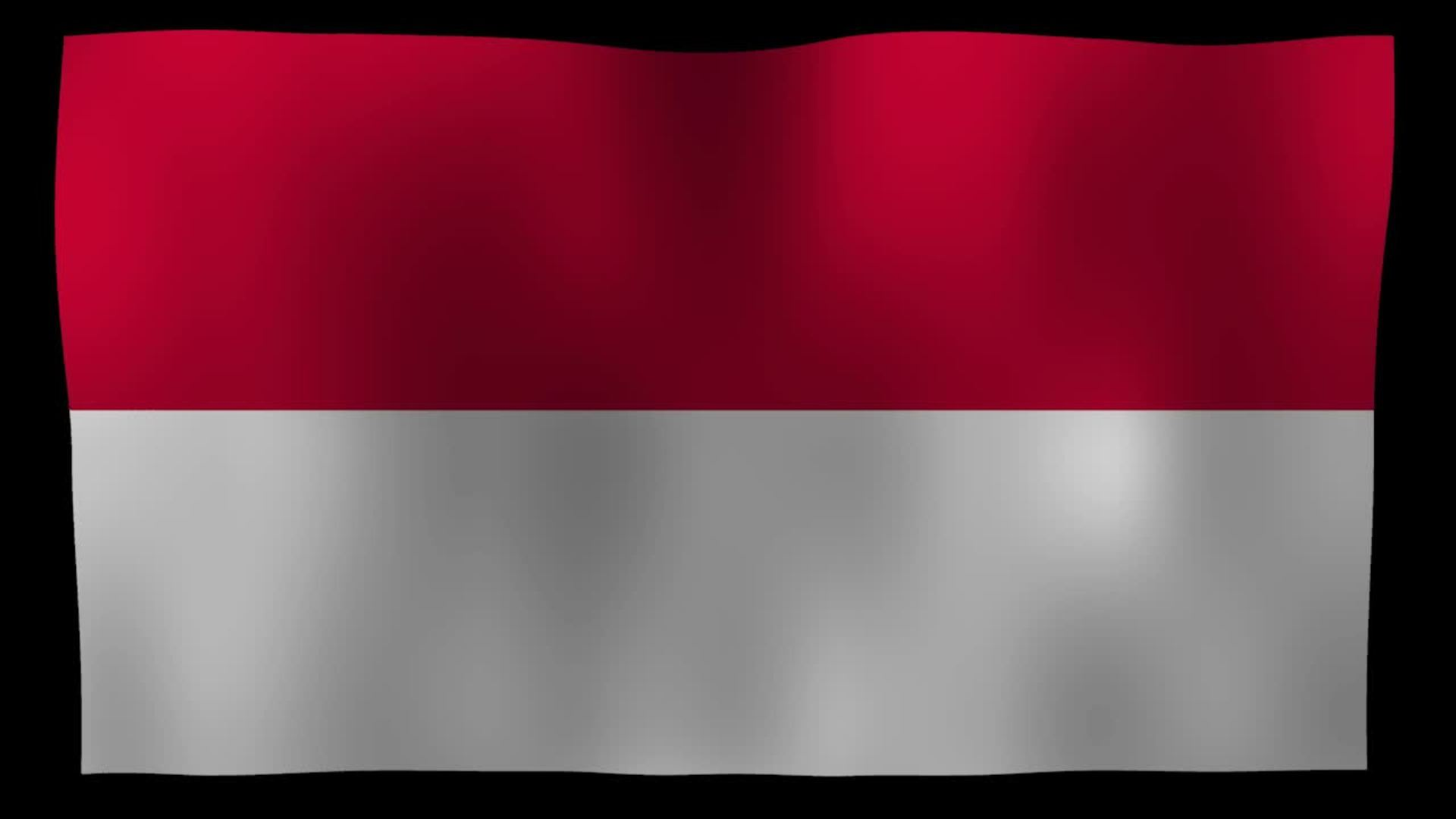 indonesia flag 4k motion loop after effects template free hd
