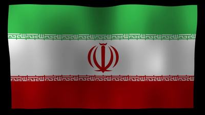 Iran Flag 4K Motion Loop After Effects 模板