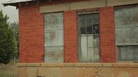 Ziegel verlassene Gebäude