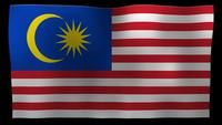 Malaysia Flag 4K Motion Loop After Effects Template