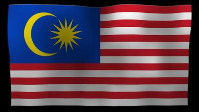 Malaysia Flag 4K Motion Loop After Effects 模板
