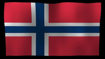 Norway Flag 4K Motion Loop After Effects 模板