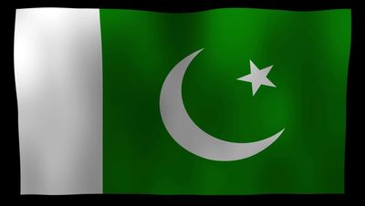 Pakistan Flag 4K Motion Loop After Effects 模板