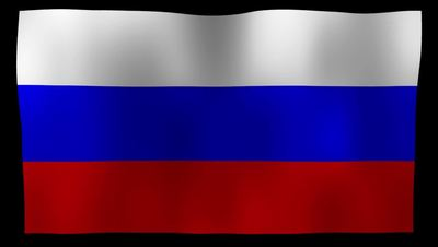 Russia Flag 4K Motion Loop After Effects 模板