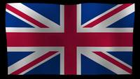 United Kingdom Flag 4K Motion Loop After Effects Template