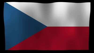 The Czech Republic Flag 4K Motion Loop After Effects 模板