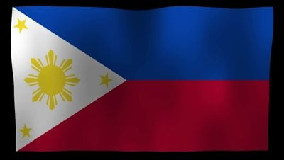 The Philippines Flag 4K Motion Loop After Effects 模板