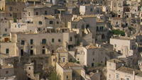 Matera Italy from overhead