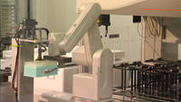 Robotic lab arm glidning