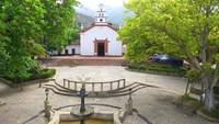 Santa Fe Antena de um jardim