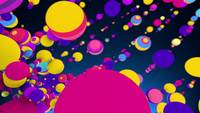 Party Spheres 4K Motion Background