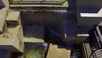 Waterfall Decks in Downward View