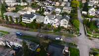 Aerial Footage over a Large Neighborhood
