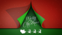 Vrolijk kerstfeest! E-Card After Effects Template