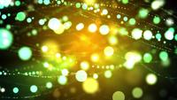 Twinkling Strands of Spinning Light 4K Motion Background