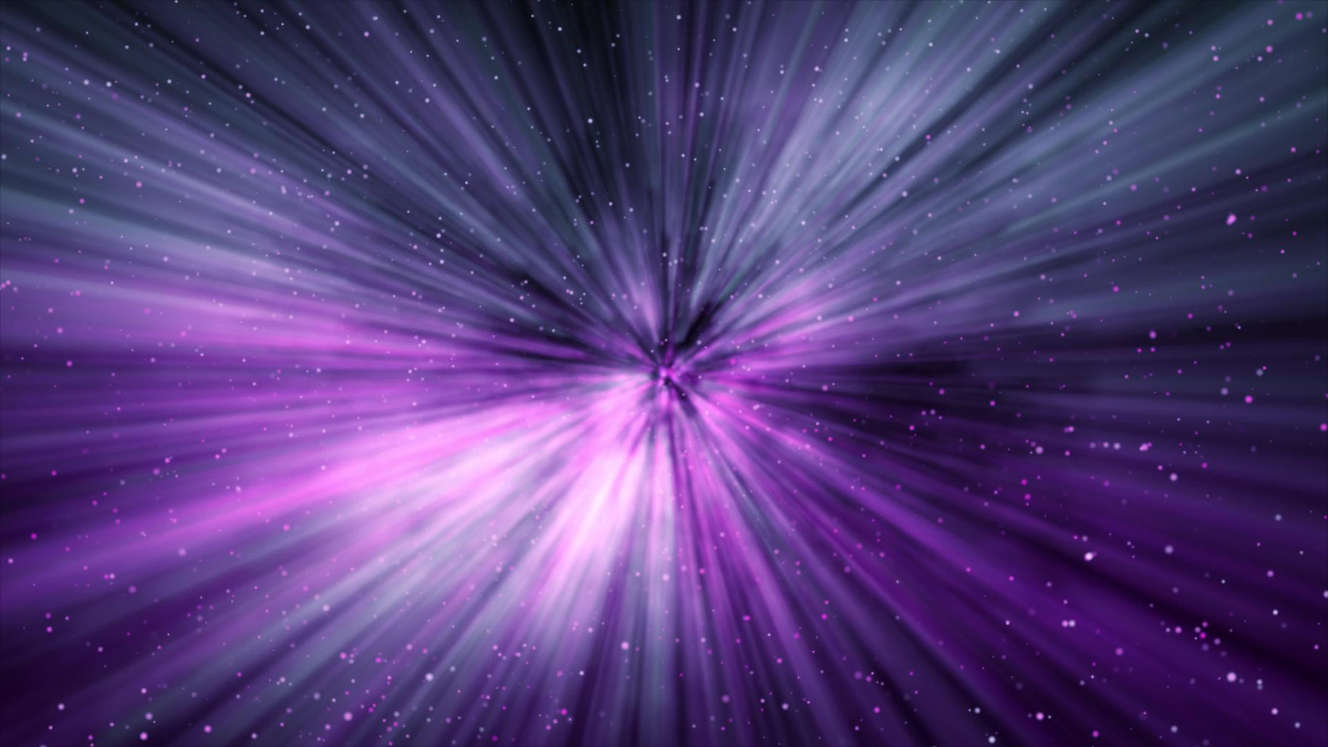 purple galaxy lights