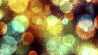 Golden Bubbles 4K Motion Background