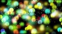 Kleurrijke Twinkling Bubbles 4K Motion Background