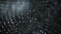 Cloudy Black Night Sky 4K Motion Background
