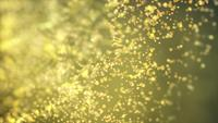 Golden Spheres 4K Motion Background