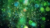 Green Orbs 4K Motion Background