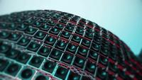 Esfera de Spinning Tiles Motion Graphic