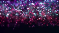 Fundo Starry Purple Daze 4K Motion