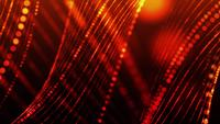 Rising Red Lines 4K Motion Background