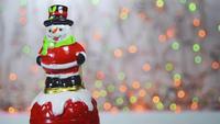 campanita de muñeco de nieve