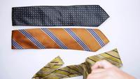 Cravates pliantes