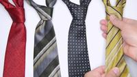 Placing Neckties