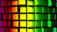 Rainbow-metallic-cubes