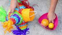 Fyllning av piñata
