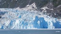 Glacier Calving in Blackstone Bay Free Stock Footage