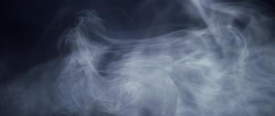 Delicate lines of smoke with soft movements in 4K slowmotion