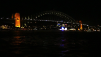 Harbour Bridge à noite 4K