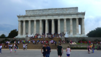 Lincoln Memorial em Washington DC 4k