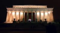 Lincoln Memorial at Night 4K