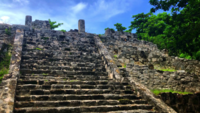 Myan Tempel in Cancun 4K
